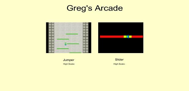 Greg's Arcade